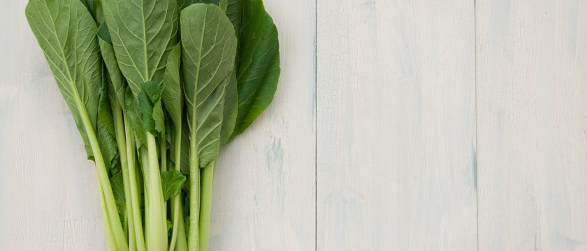 小松菜の薬膳的効能と使い方